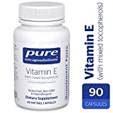 Pure Encapsulations - Vitamin E (with Mixed Tocopherols) - Dietary Supplement for...