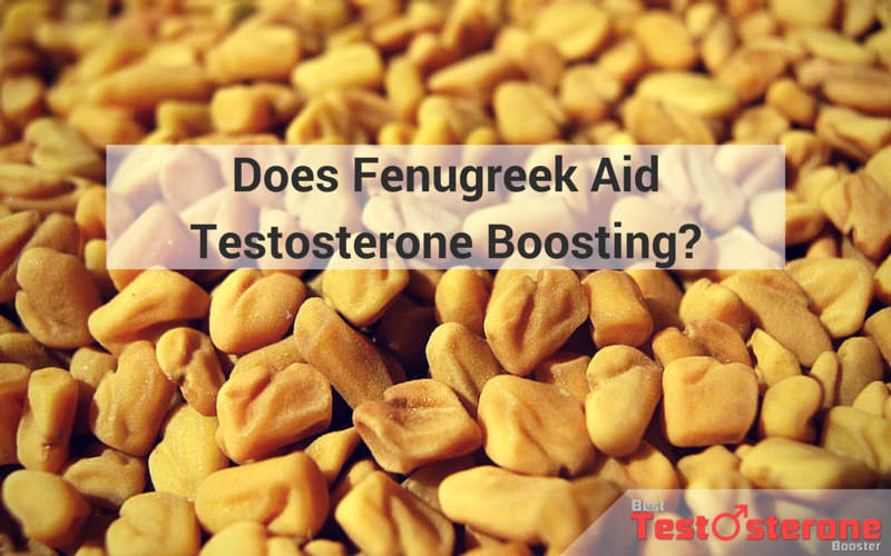Fenugreek Aid Testosterone Boosting