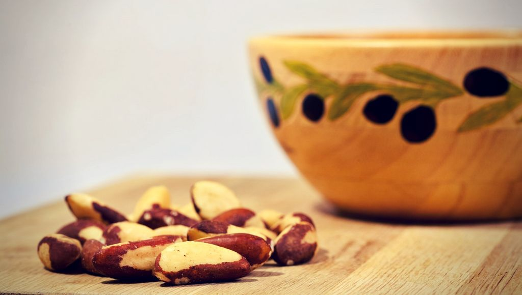 brazil nuts-helps to increase  boron and testosterone levels