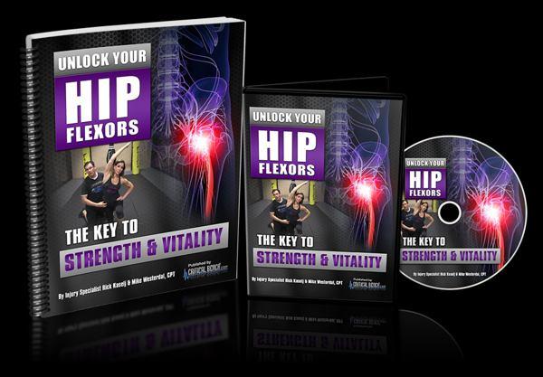 unlock your hip flexors ebook cover